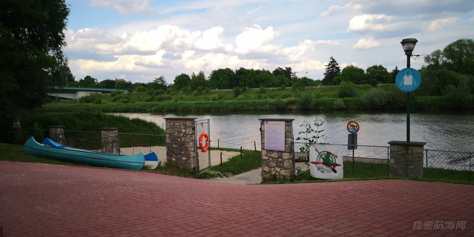 帆船港见闻之波兰克拉科夫市皮划艇培训学校