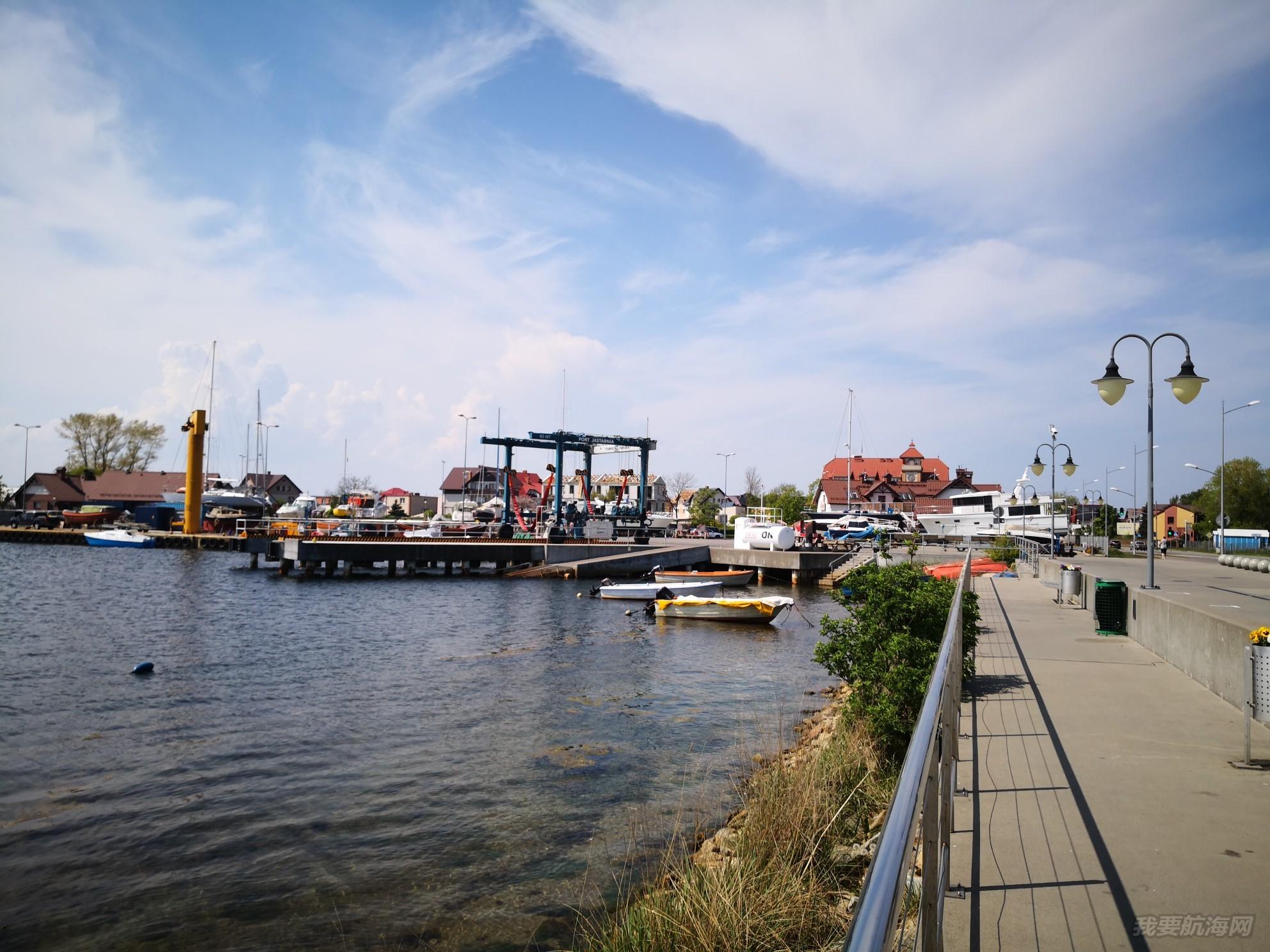 帆船港见闻之波兰北部城市JASTARNIA 帆船港201805