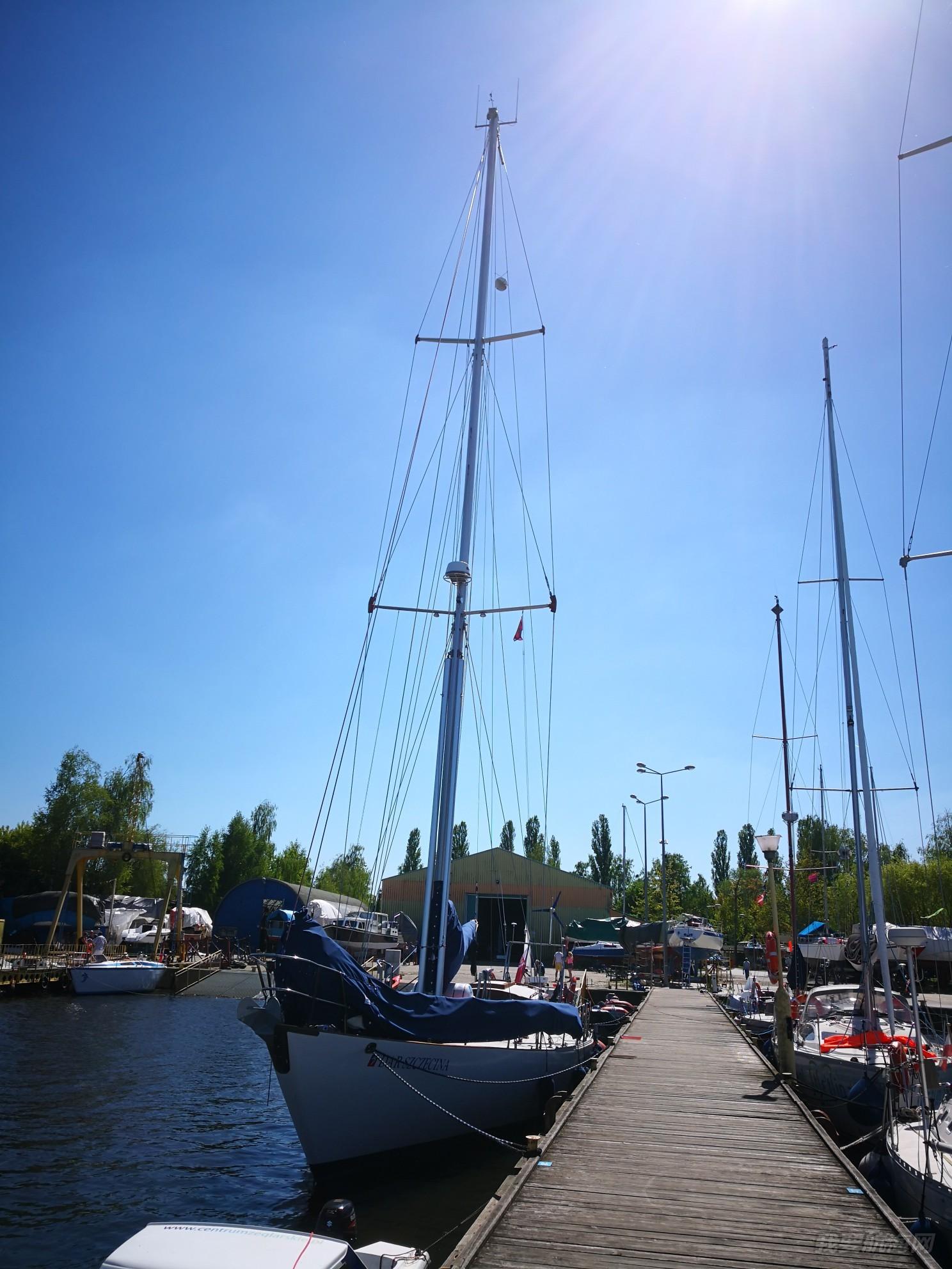 帆船港见闻之波兰北部波罗的海城市什切青(第二篇)