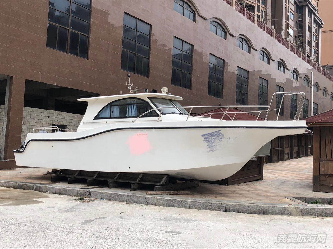 34尺未使用钓鱼艇三证齐全55万