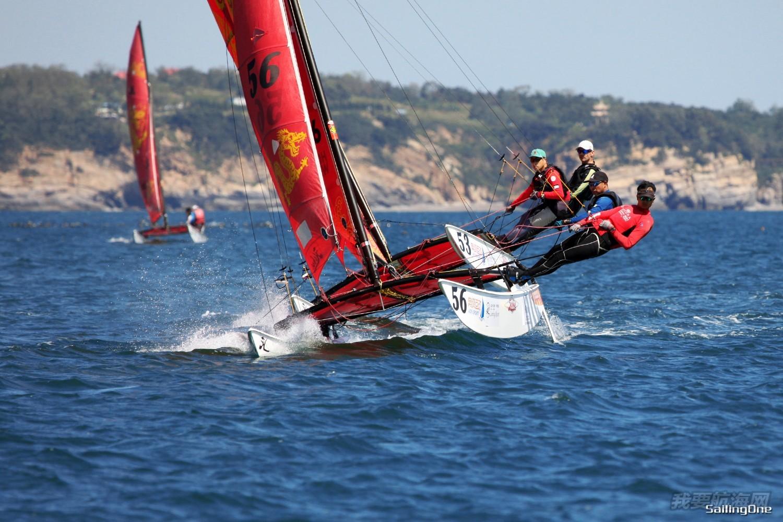 什么帆船最好玩儿?如果问我那一定是Hobie16