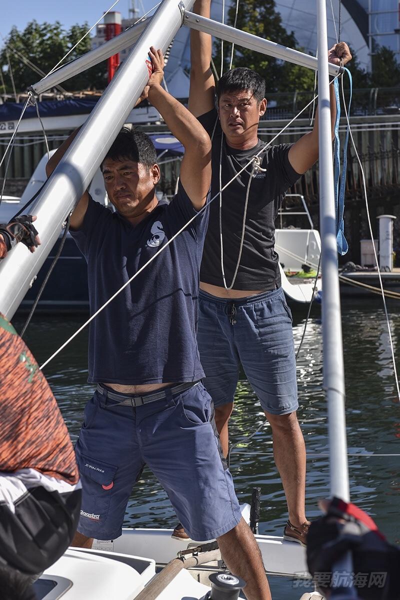 2018 中体产业 城市俱乐部国际帆船赛 须眉篇
