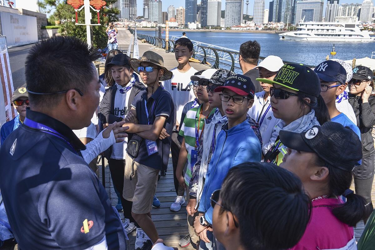 走进遥控帆船- -2018·中体产业城市俱乐部国际帆船赛