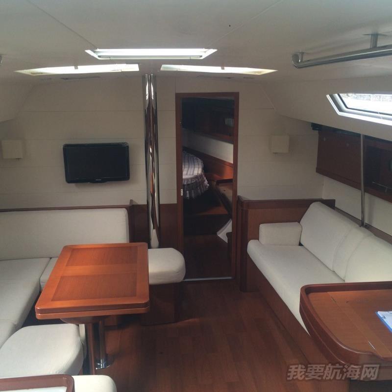 50尺大帆船法国博纳多全柚木夹板三证齐全设备完好正常