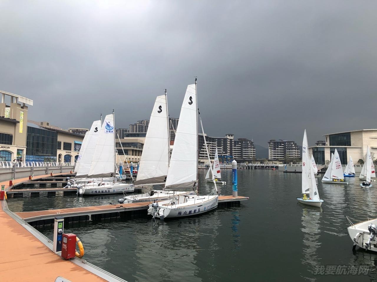 万博鱼 — 首次体验帆船比赛