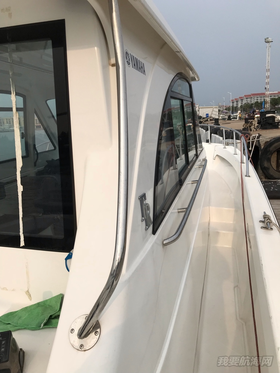 日本原装进口雅马哈34尺柴油机转让