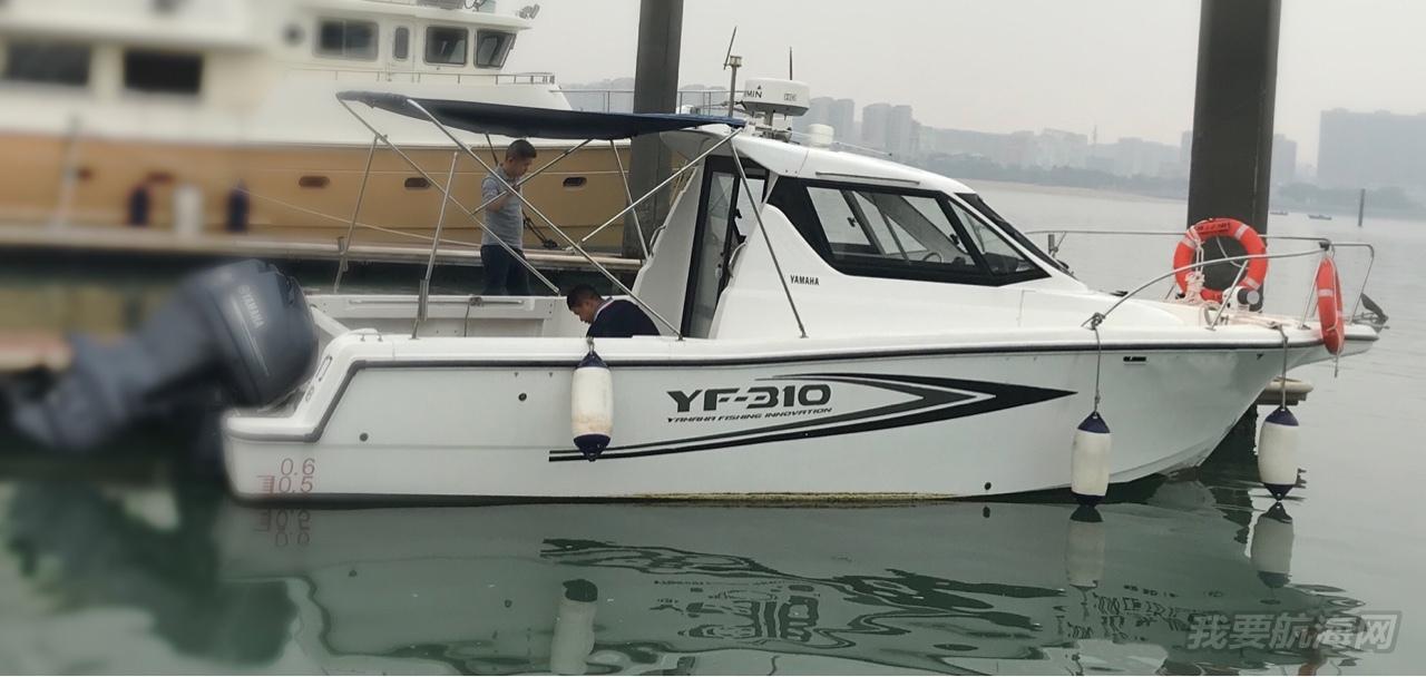雅马哈310钓鱼艇只要45万
