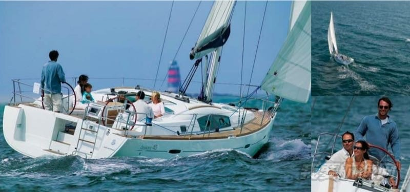 售法国原装进口博纳多Oceanis40游艇