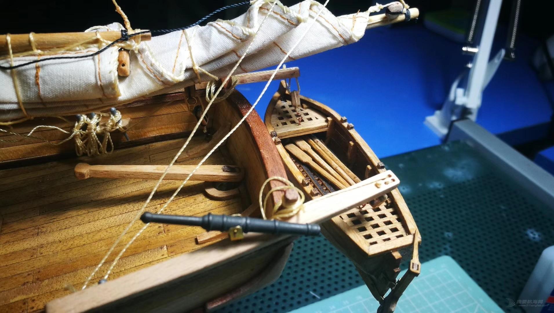 """""""新港号""""纵帆船——历时八个月终于完工!"""