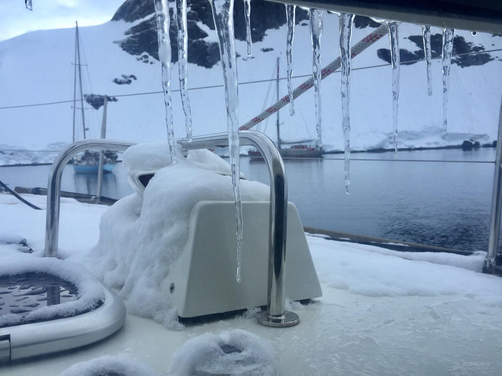 《海角孤舟》(94)南极半岛战冰山