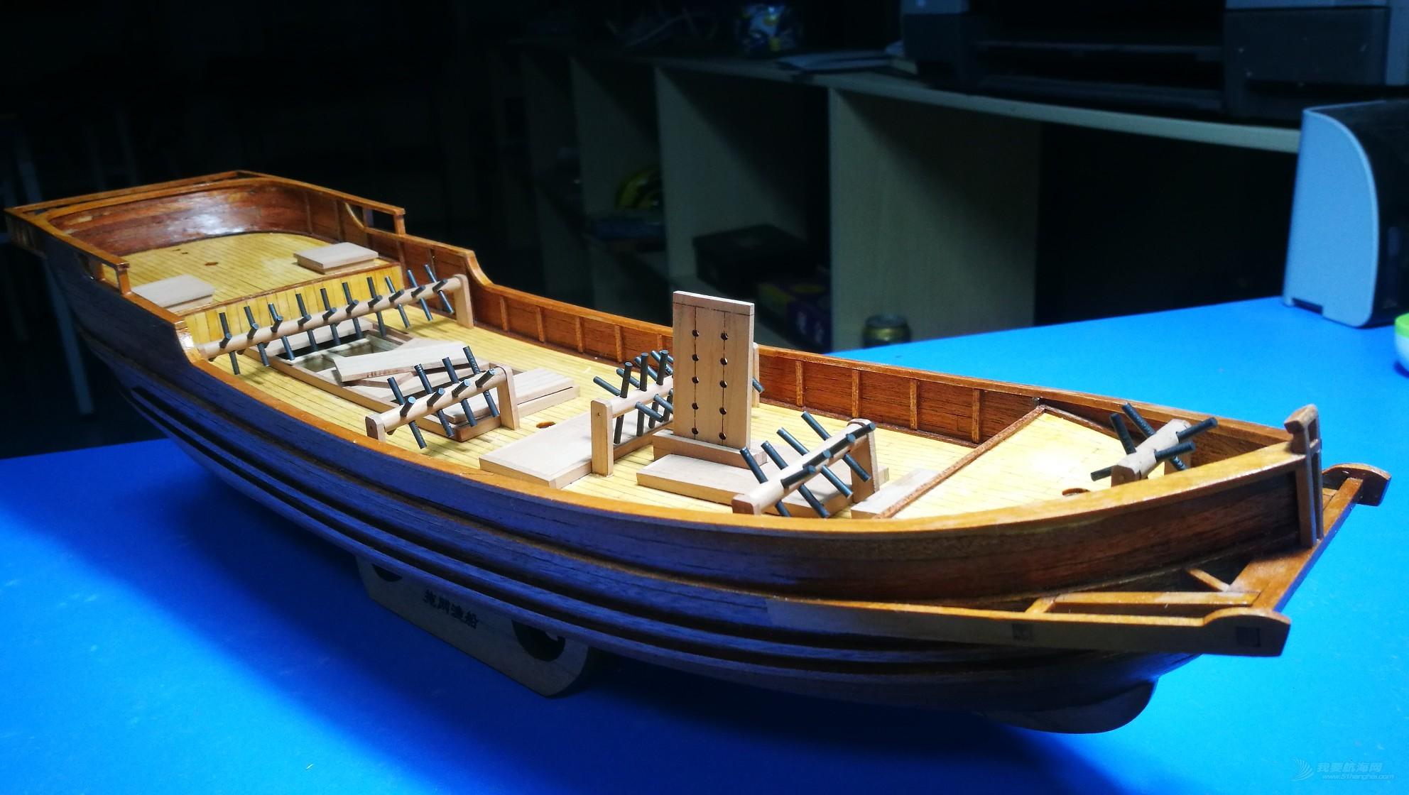 北海大拖-广式拖网渔船,耗时近三个月完成