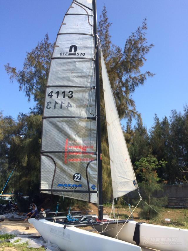 三艘双体帆船,两艘出售出售美国Nacra460,570,一艘德国Topcatk3