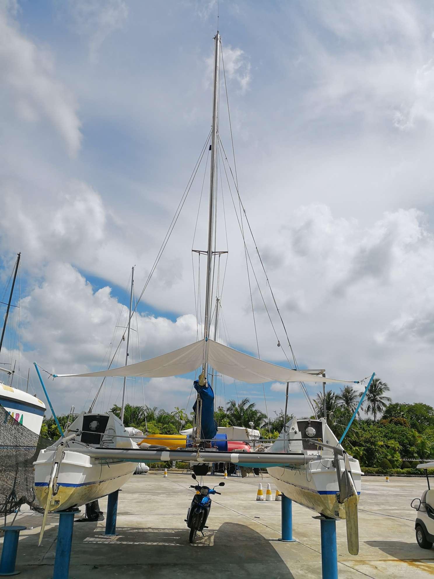 SeaWind24双体帆船出售