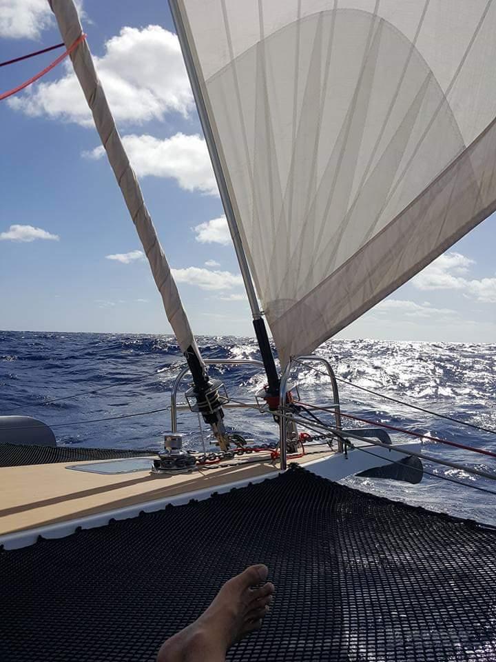 飞鱼号双体帆船环球航海2—缘起之法国欧巴一根筋-1万公里跨省游