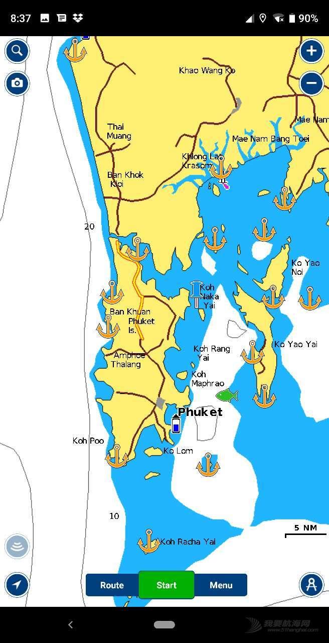 泰国南部湾区安达曼区域锚点介绍1