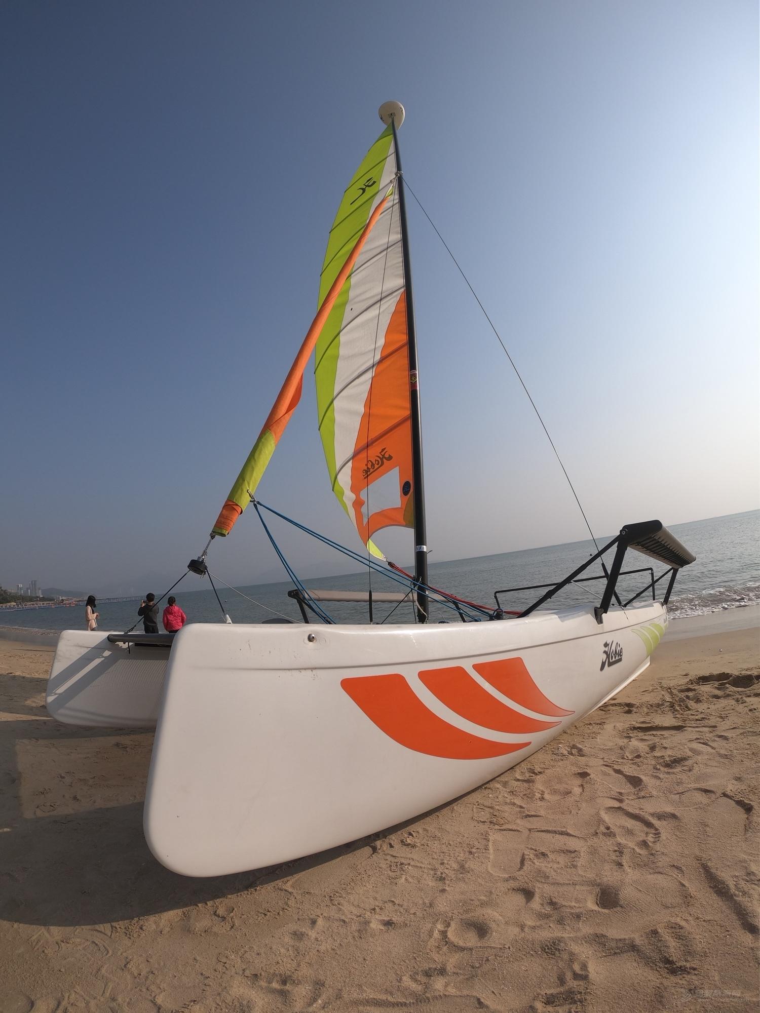 2018年下水九成新HOBIE GETAWAY双体帆船 急售