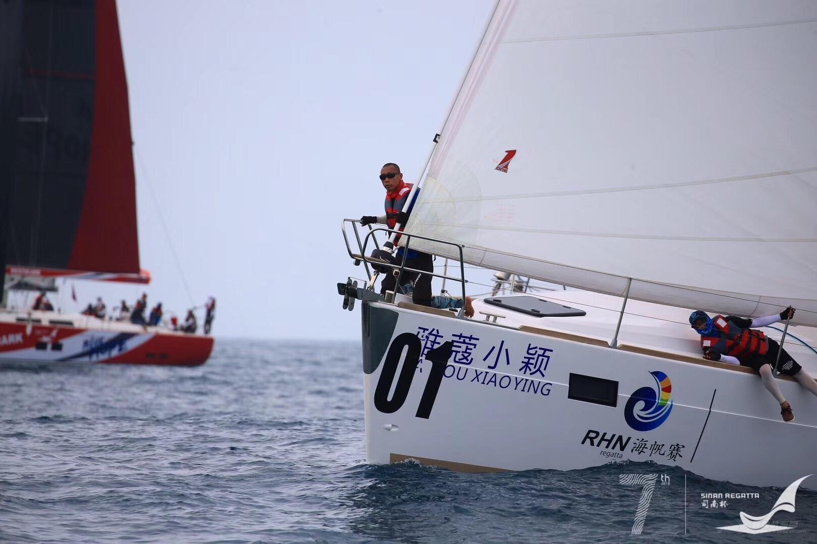 参加2019三亚司南杯大帆船赛,不虚此行