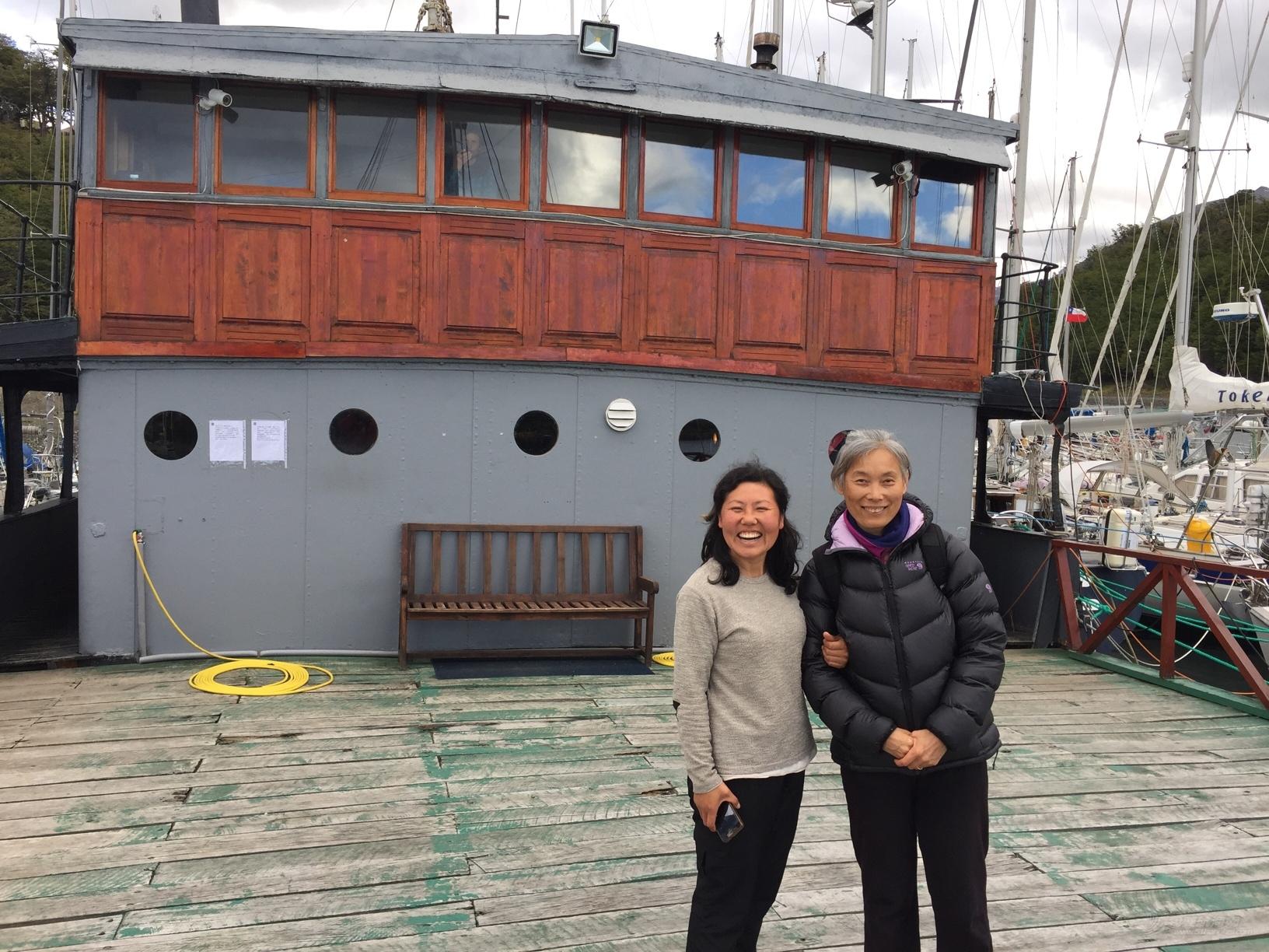 《海角孤舟》(102)遇上帆友Ping