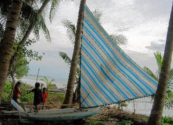 分享个太平洋风帆独木舟的图纸