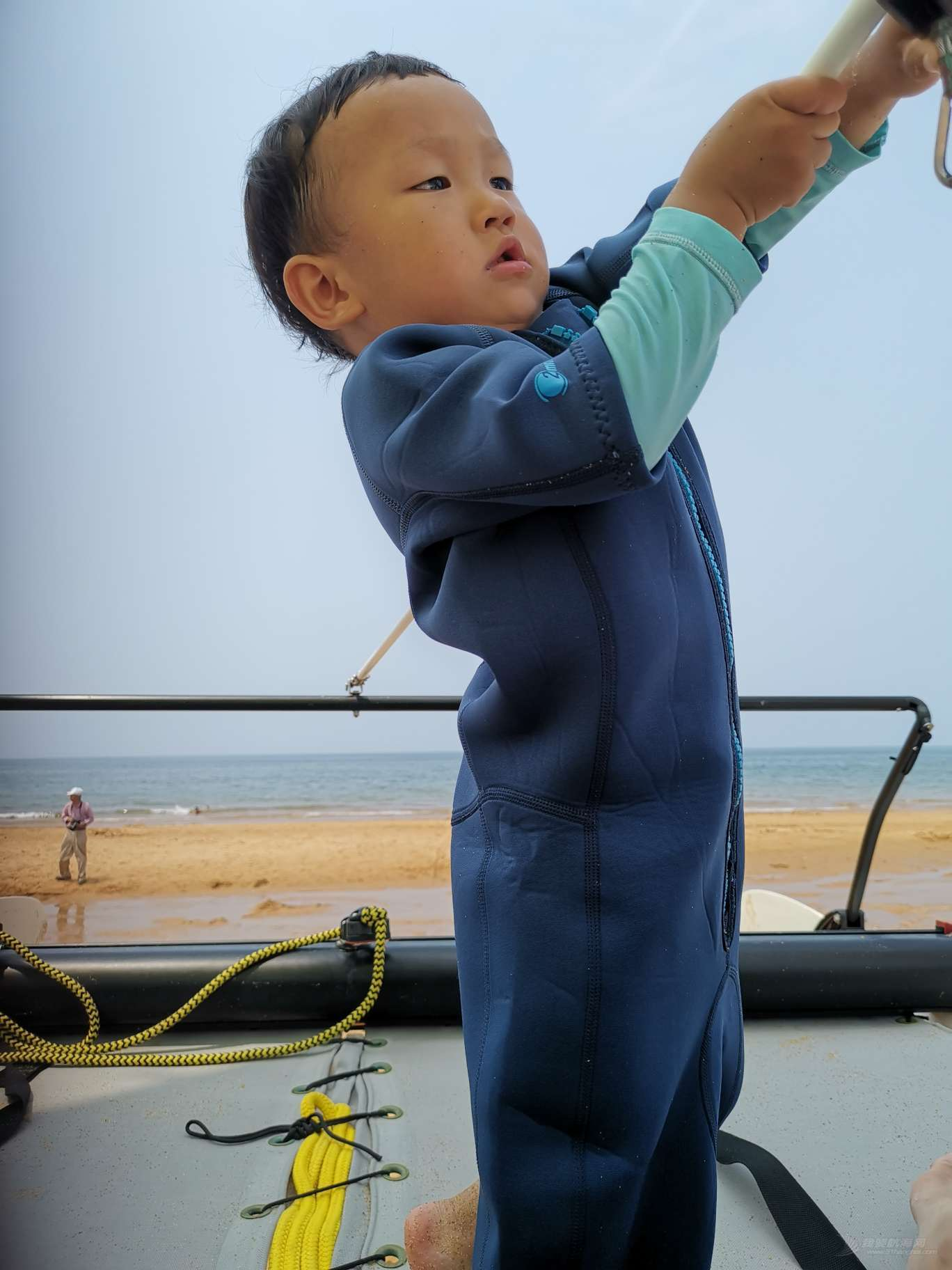 打卡家庭帆船赛威海站