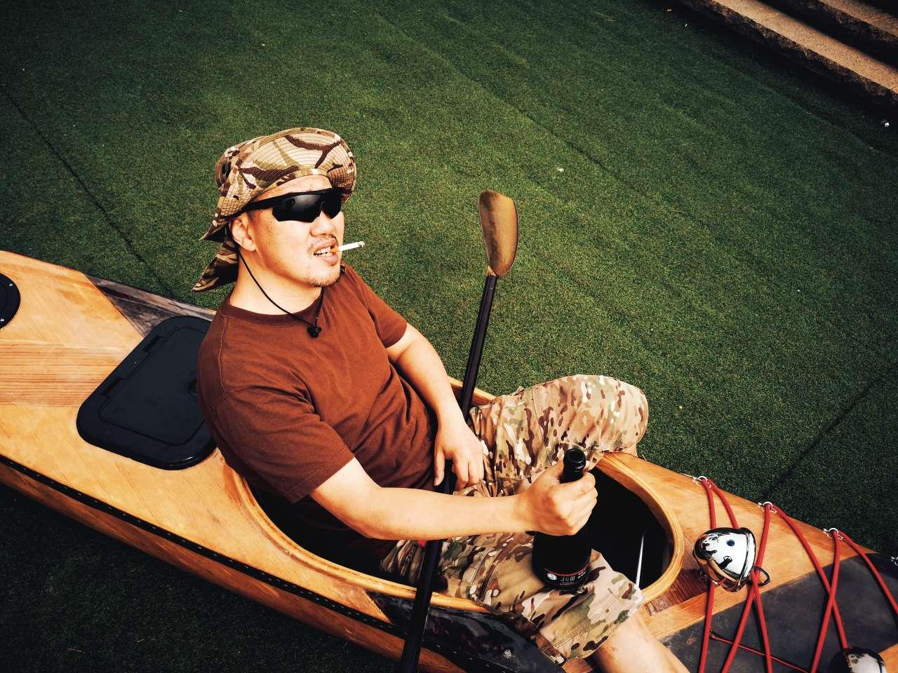 自制皮划艇